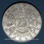 Coins Autriche. République. 25 schilling 1963. Prince Eugène de Savoie
