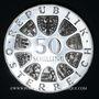 Coins Autriche. République. 50 schilling 1974 50e anniversaire de la Radio autrichienne