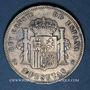 Coins Espagne. Alphonse XIII (1886-1931). 5 pesetas 1896(96)PG-V. Valence
