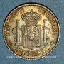 Coins Espagne. Alphonse XIII (1886-1931). 50 centimos 1894(94)