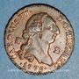 Coins Espagne. Charles III (1759-1788). 2 maravedis 1775. Ségovie