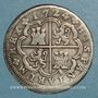 Coins Espagne. Philippe V (1700-1746). 2 reales 1724A. Madrid