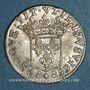 Coins Monaco. Louis I (1662-1701). 1/12 écu ou 5 sols, luigino 1668. Imitation de Dombes