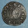 Coins Sicile. Les Suèves. Frédéric II (1197-1250). Denier. Messine, vers 1243