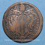 Coins Vatican. Benoît XIV (1740-1758). 1 baiocco n. d. (1744)
