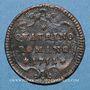 Coins Vatican. Benoît XIV (1740-1758). Quattrino 1751, an XII