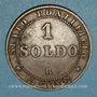 Coins Vatican. Pie IX (1846-1878). 1 soldo 1867 R, an XXI. Rome