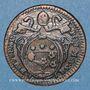Coins Vatican. Pie VI (1775-1799). Quattrino an XII (1786)