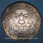 Coins Vatican. Siège vacant (1758). Scudo