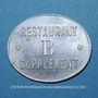 Coins Allevard (38). Coopérative - Forges d'Allevard. Restaurant B supplément. Aluminium