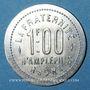 Coins Amplepuis (69). La Fraternité - Société Coopérative. 1 franc