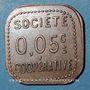 Coins Amplepuis (69). La Fraternité - Société Coopérative. 5 centimes