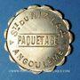 Coins Angoulême (16). Société du Riz Lacroix (La +) - Paquetage. sans valeur. Laiton