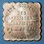 Coins Annemasse (74). Société Coopérative des Agents de la Compagnie P.L.M. 1 kilo pain. Contremarqué