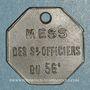 Coins Artillerie. 56e R.A.C., Mess des Sous-Officiers. Montpellier, Castres. 5 cmes