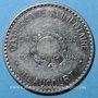 Coins Beaucourt (90). Coopérative Alimentaire. 20 centimes contremarquée EXPOSITION