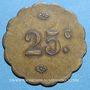 Coins Belfort (90). Mr Frontera. 25 centimes
