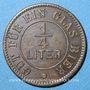 Coins Belfort (90). Restauration A. Löffler. 1/4 litre de bière