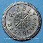 Coins Besançon (25). G. Joly. 75 centimes à consommer