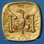 Coins Besançon (25). Ville. 10 centimes 1917. Essai postérieur