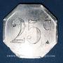 Coins Béziers (34). Coopérative des Démobilisés. 25 centimes