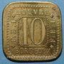Coins Bordeaux (33). Louvres, F.EL. 10 centimes