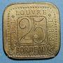 Coins Bordeaux (33). Louvres, F.EL. 25 centimes