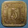 Coins Bordeaux (33). Louvres, F.EL. 5 centimes