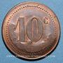 Coins Bordeaux (33). Nouvelles Galeries. 10 centimes