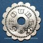 Coins Bourg-en-Bresse (01). Mess des Sous Officiers du 23e Regt d'Infanterie. 25 centimes