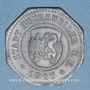 Coins Bouxwiller (67). Ville. 20 pfennig 1917