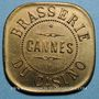 Coins Cannes (06). Brasserie du Casino. 1 franc