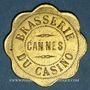 Coins Cannes (06). Brasserie du Casino. 75 centimes