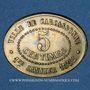 Coins Carcassonne (11). Ville. Union Philanthropique - Fourneaux Démocratiques. 5 centimes 1.1.1892
