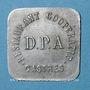Coins Castres (81). Restaurant Coopérative - D.P.A. (Dépôt du Parc d'Artillerie). 50 centimes
