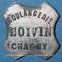 Coins Chagny (71). Boulangerie Boivin. 2 1/2 cmes zinc nickelé
