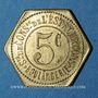 Coins Châlons-sur-Marne (51). Société de Consommation de l'Est. Boulangerie. 5 centimes