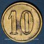 Coins Châtenois (67). Krone (restaurant La Couronne). 10 pfennig