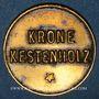 Coins Châtenois (67). Krone (restaurant La Couronne). 8 pfennig