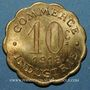 Coins Chatou (78). Commerce et Industrie. 10 centimes 1918