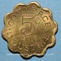 Coins Chatou (78). Commerce et Industrie. 5 centimes 1918