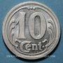 Coins Chécy. Comité de Chécy-Chateauneuf-Sully-Vitry. 10 centimes 1922