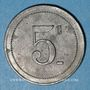 Coins Cholet (49). Cantine GIRARD - 77e d'Infanterie. 5 centimes