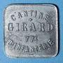 Coins Cholet (49). Cantine GIRARD - 77e d'Infanterie. 5 francs