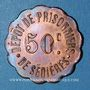 Coins Clergoux (19). Dépôt de Prisonniers de Sédières. 50 centimes