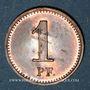 Coins Colmar (68). Allgemeine Consum Genossenschaft Controlle. 1 pfennig (1890-1898)
