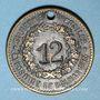 Coins Colmar (68). Ate. Kroepfle (54 rue des clefs). 12 (en creux)