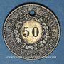 Coins Colmar (68). Ate. Kroepfle (54 rue des clefs). Chiffre 12 remplacé par 50