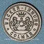 Coins Colmar (68). Bäcker-Innung (corporation des boulangers). 5 pfennig n. d.