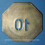 Coins Compagnie des Chemins de Fer de l'Est. Traction, Boisson chaude 10